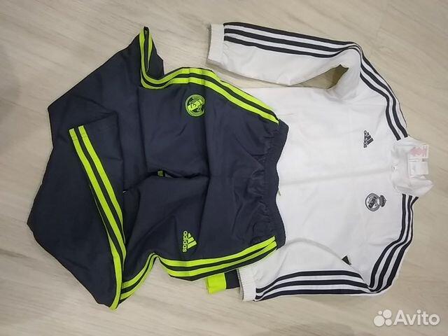 fe704175 Спортивный костюм Adidas для девочки 9-10 лет купить в Москве на ...