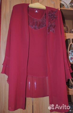 Блузка с туникой (двойка) 56 размер