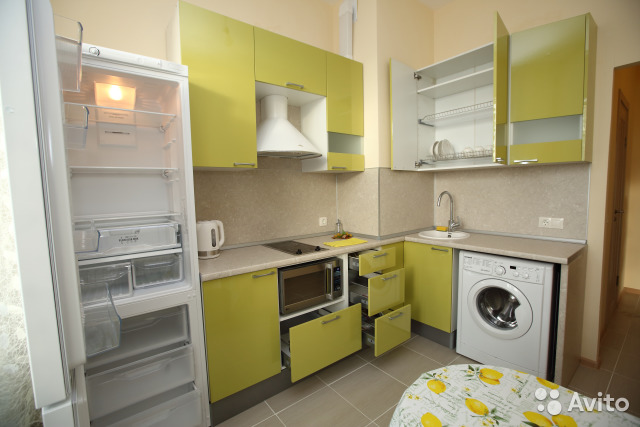 1-room apartment, 36 m2, 14/20 floor. buy 3