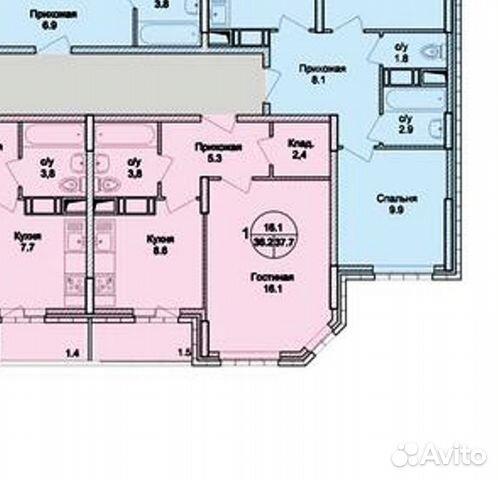 Продается однокомнатная квартира за 2 700 000 рублей. Раменское, Московская область, Северное шоссе, 20.