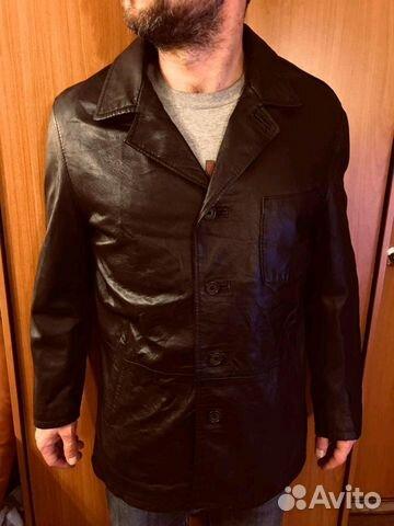 570fd4ec Кожаная куртка френч оригинал,Conbipel,Италия купить в Москве на ...