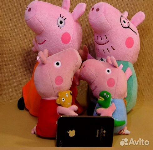 Свинка пеппа и её семья супер