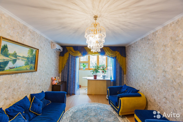 Продается трехкомнатная квартира за 3 100 000 рублей. г Астрахань, ул Валерии Барсовой, д 15.