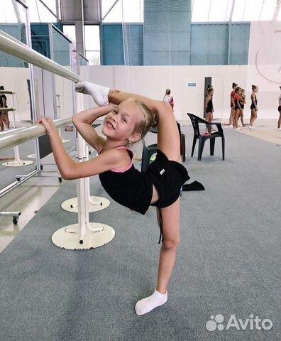 Coach at rhythmic gymnastics