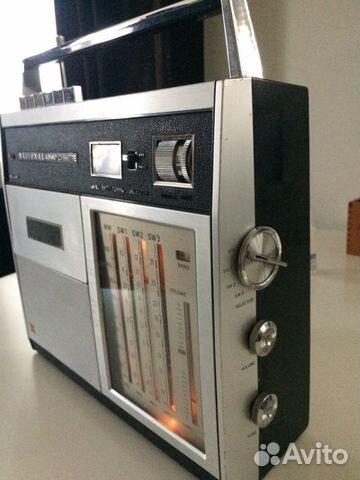 Винтажная магнитола National RQ 235S 89381557958 купить 2