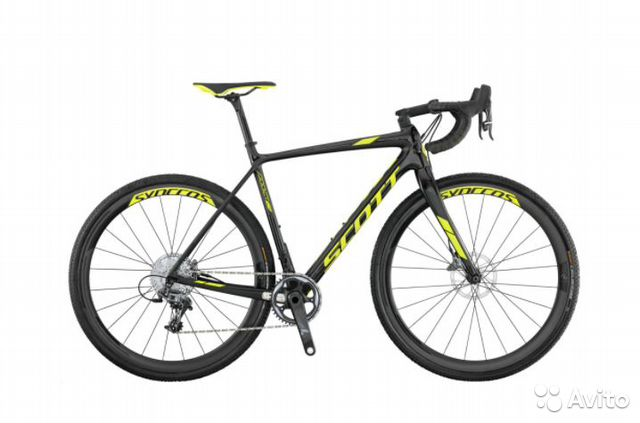 Велосипед Scott Addict CX 10 disc