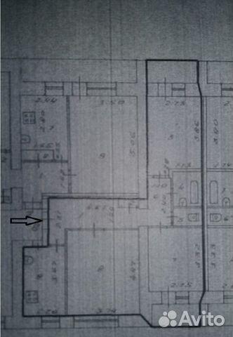 3-к квартира, 59 м², 2/9 эт. купить 3