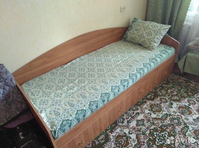 Кровать односпальная 80х200см 89129738232 купить 1