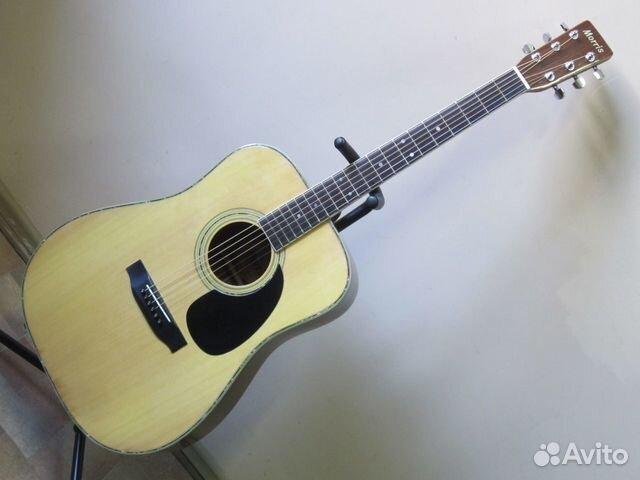 89025069832 Акустическая гитара Morris W-30 (1980 Japan)