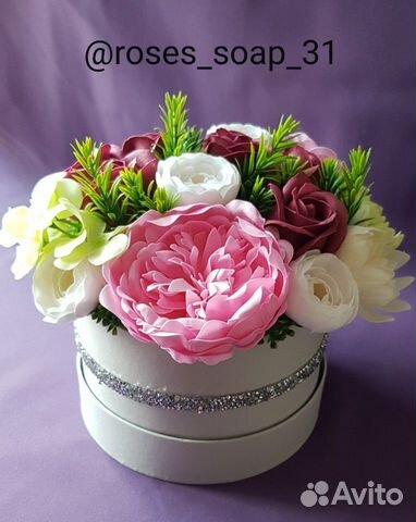 Букет из мыльных цветов купить на Зозу.ру - фотография № 1