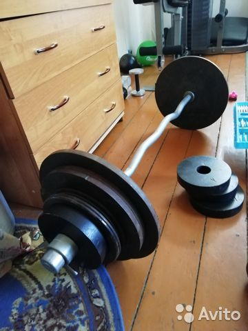Штанга 132 кг