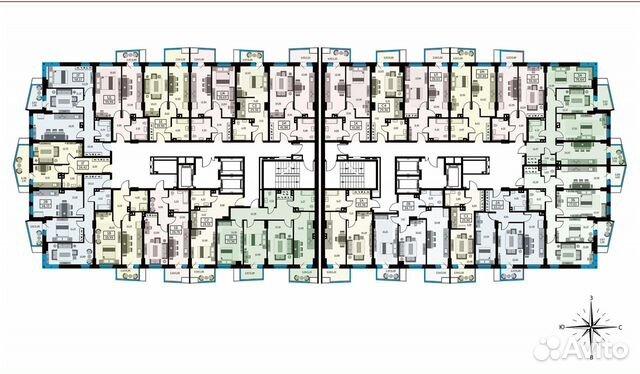 1-к квартира, 39.5 м², 11/26 эт. купить 10