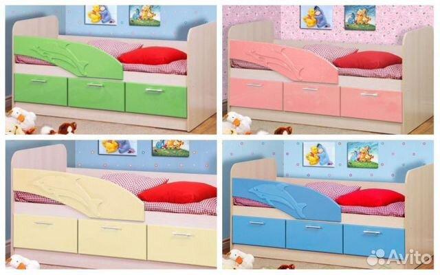 Кровать Дельфин  89182978508 купить 1