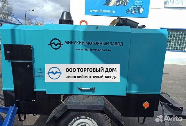 Kompressor skruv med diesel MMZ-пв6/0,7Р2 89652020201 köp 3