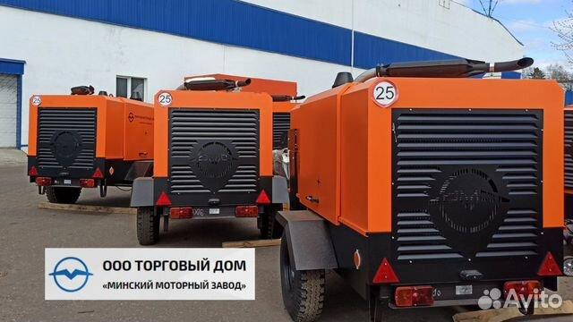 Kompressor skruv med diesel MMZ-пв6/0,7Р2 89652020201 köp 4
