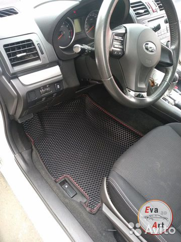 EVA (эва) коврики 3D на Subaru XV  купить 2