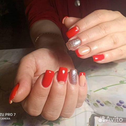 Наращивание ногтей,гель-лак,педикюр  89964133854 купить 7