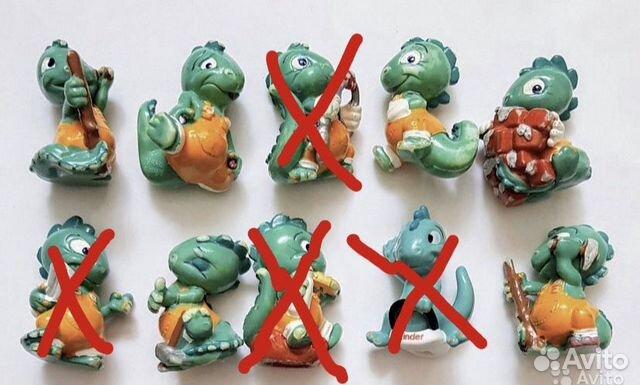 Киндер динозаврики 90-х  89241177477 купить 1