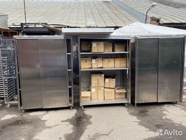 Шкаф из нержавеющей стали