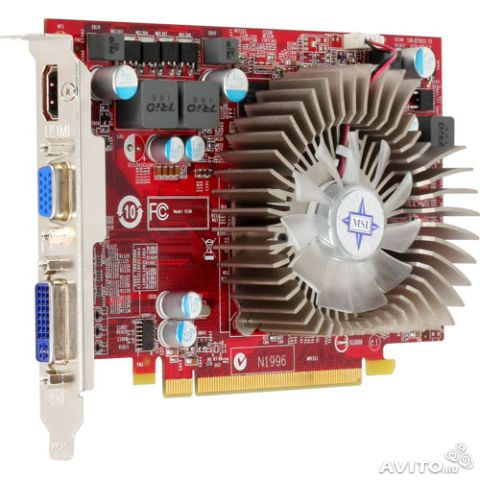 Видеокарта 512 MB (PCI-E) MSI R4670-MD512/D3— фотография №1