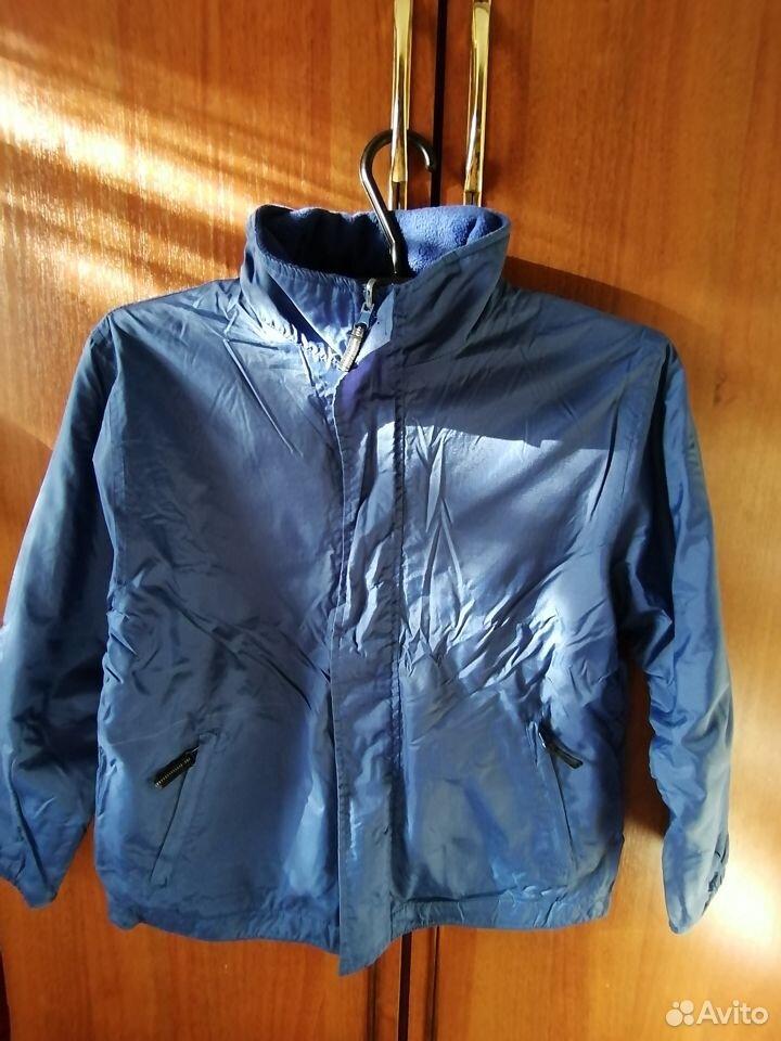 Куртка на флисе 2-х сторонняя