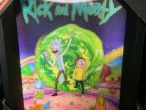 3D poster Rick and Morty