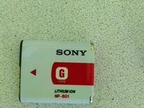 Sony NP-BG1 аккумулятор оригинал новый