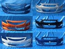 Бампер новый в любой цвет hyundai solaris 10-17 — Запчасти и аксессуары в Санкт-Петербурге
