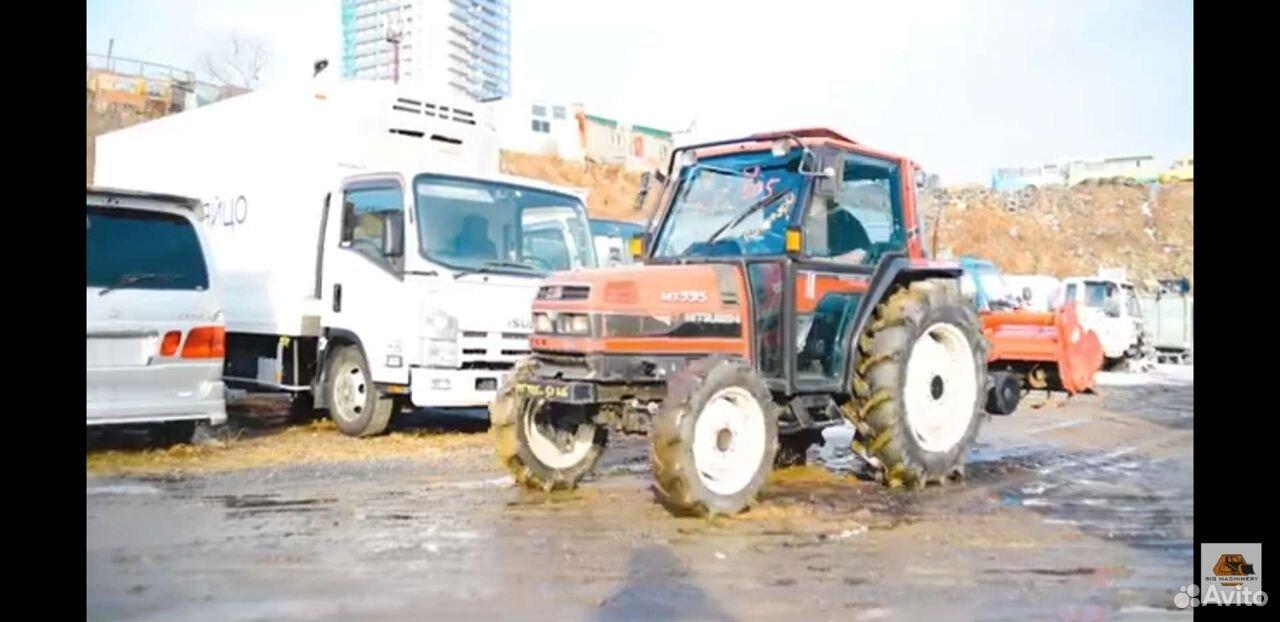 Трактор Mitsubishi MT335, 34 л.с. с фрезой и тепло