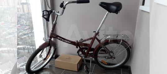 Велосипед складной Штерн купить в Ростовской области   Хобби и отдых   Авито