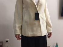 Пальто, шерсть, молочное