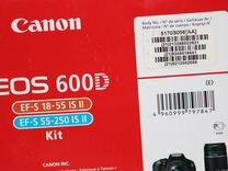 Продам Canon 600 D