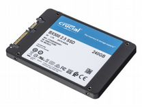 SSD накопитель crucial 240Gb