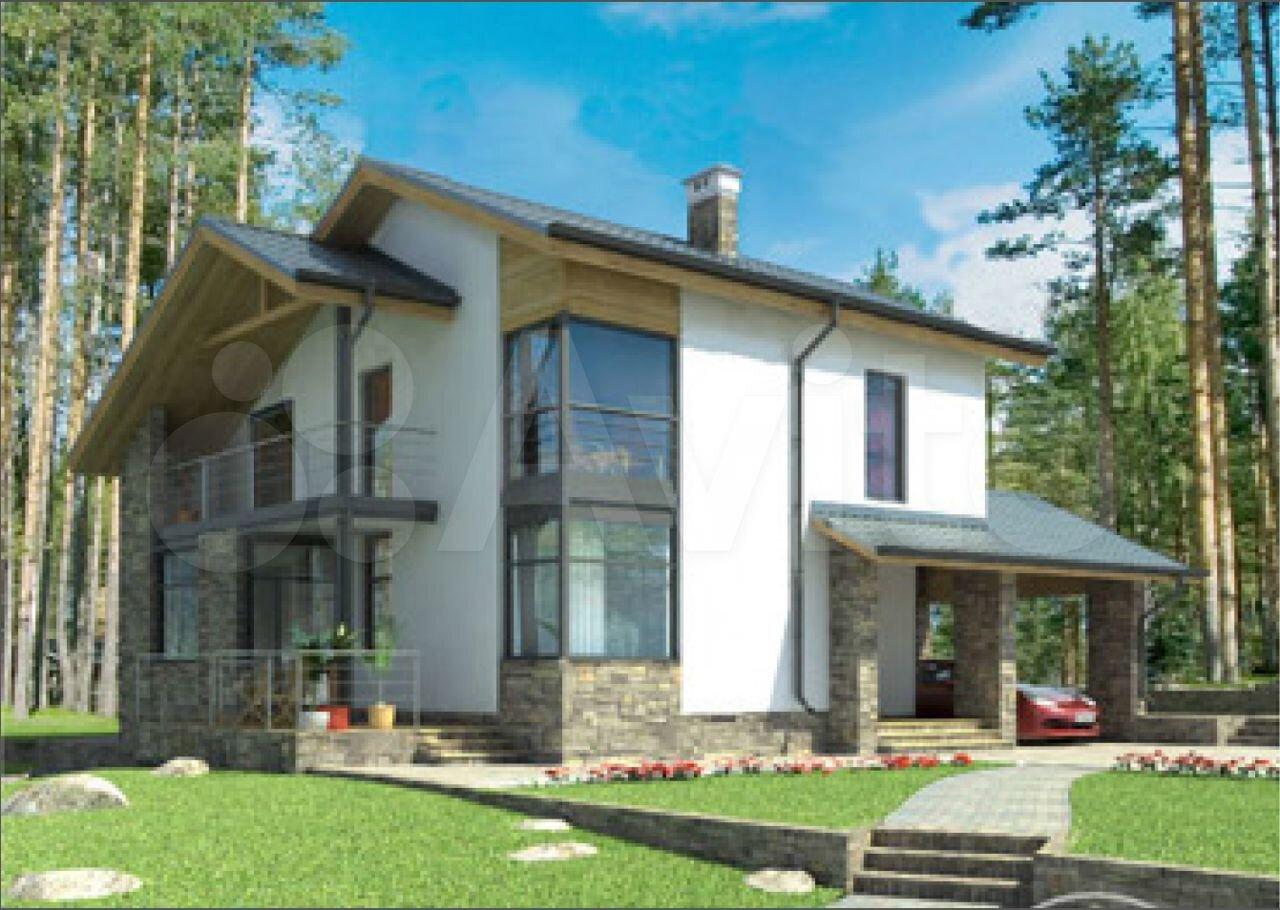 Дом 188 м² на участке 10 сот.  89095718016 купить 1