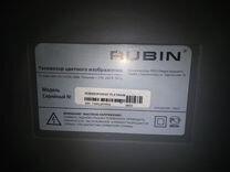 Телевизор rubin 72FDS107 рубин