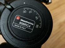 Штатив Manfrotto M55MF3 + голова 808rc4 — Фототехника в Москве