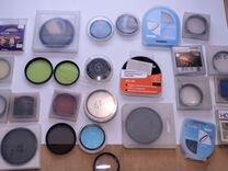 Филитры для объективов на разые диаметры