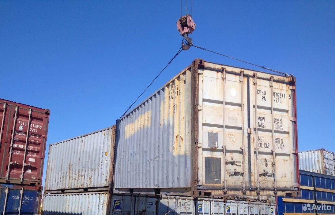 Морской контейнер 20 футов бу в Перми