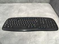 Беспроводная клавиатура+мышь Logitech EX-100