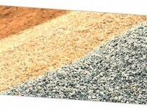 Щебень гранитный, пгс, песок, природный щебень