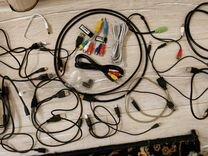 Кабеля и шнуры для ноутбука и пк