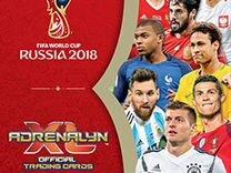 Panini Чемпионат Мира 2018. Adrenalyn XL