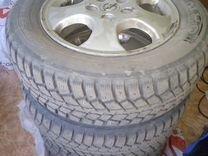 Литые диски на Опель с зимней резиной kumho R15