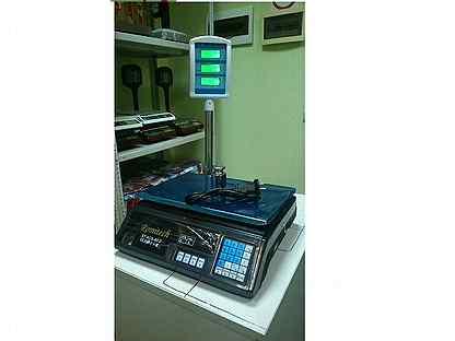 Весы торговые электронные для магазина Romitech