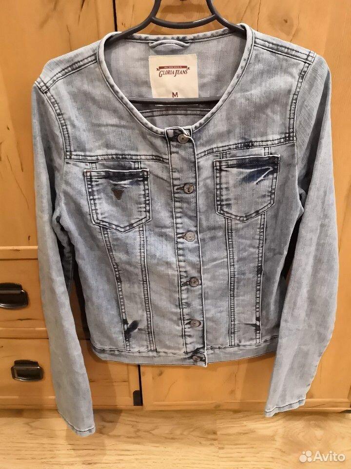 Пиджак джинсовый для девочки, р. м (46)  89103122186 купить 1