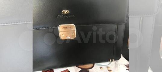 c1c93113cefe Портфель мужской DuPont кожаный (Франция) купить в Москве на Avito — Объявления  на сайте Авито
