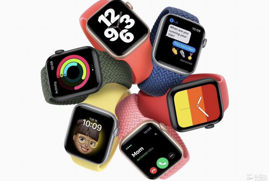 Apple Watch SE/S6 Ростест Новые