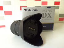Объектив Tokina 12-24 F4 ATX-X124 Pro DX Canon EF