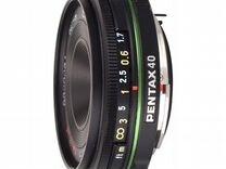 Объектив Pentax SMC DA 40mm f/2.8 Limited