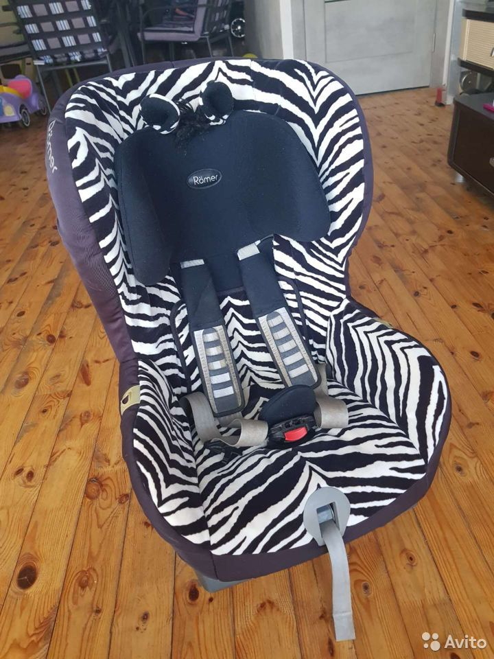 Автокресло Romer King II LS Smart Zebra